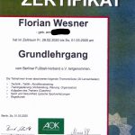 Grundlehrgang Florian Wesner