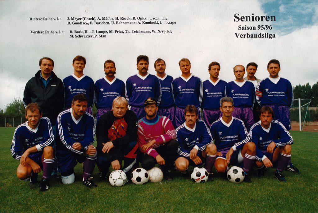 Marzahner SV Senioren 1995/96