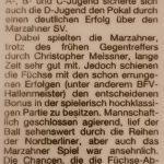 Artikel Fuwo Pokalendspiel 1. D 1997