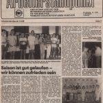 Arbeiterstandpunkt 13-89 Rückblick auf die Saison 198889 mit Titel