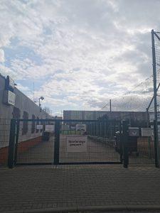 Sportplatz gesperrt