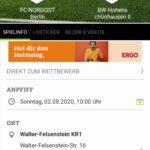 Testspiel Ü32 - BW Hohenschönhausen (2. Herren)