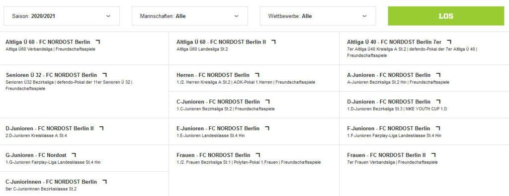 Spielpläne fussball.de