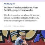 Berliner Vereinspräsident: Vom Gefühl, geopfert zu werden