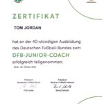 DFB-JUNIOR-COACH Tom Jordan