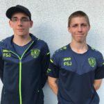 FSJler Pascal Courois und Arthur Horn