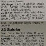 Marzahner SV 1996/97 1. Herren Kader