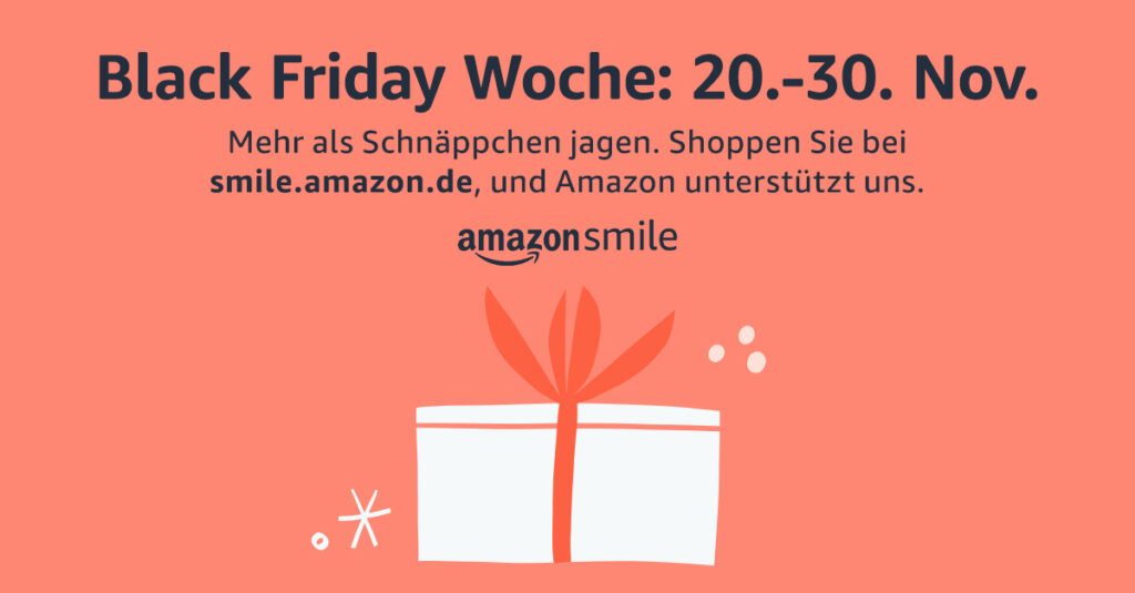 AmazonSmile - Black Friday Week