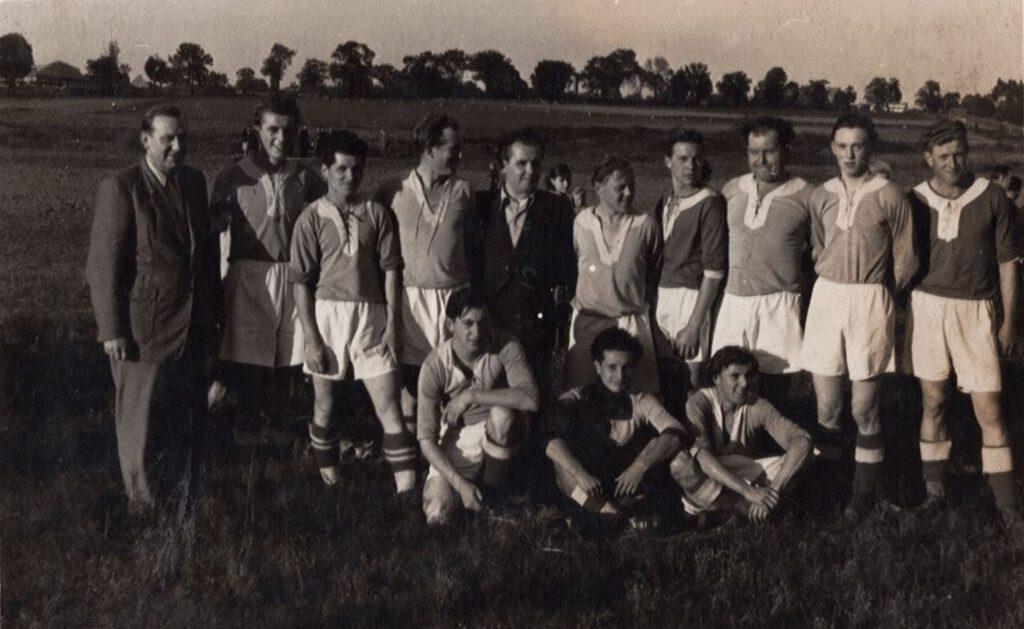 Anfan/Mitte der 1950er-Jahre 1. Herren