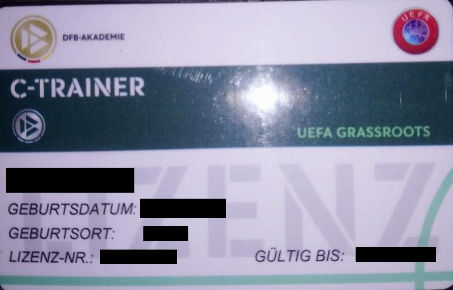 C-Lizenzkarte