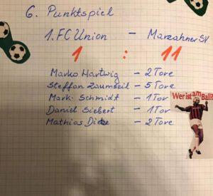 Marzahner SV 1993/94 1. E Kantersieg beim 1. FC Union