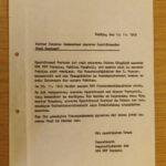 BWF Marzahn 1985 Freistellung von der Gefechtsbereitschaft