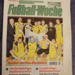 FC NORDOST Berlin 2005/06 1. Herren Titelblatt Fußball-Woche