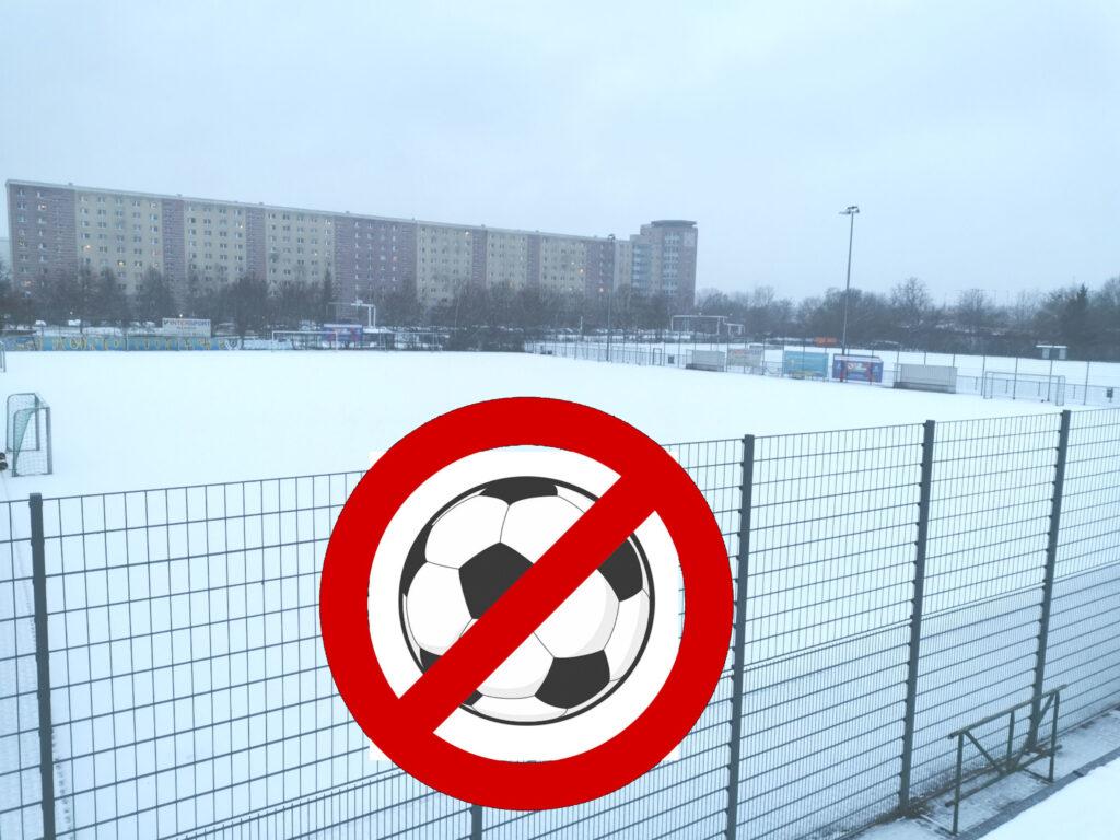 Kein Mannschaftstraining erlaubt