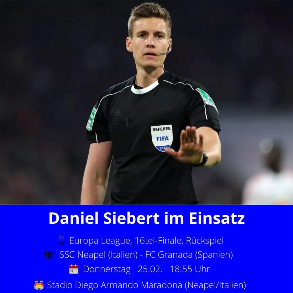Daniel Siebert Ansetzung 25.02.21