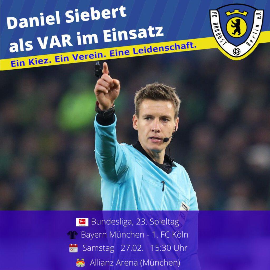 Daniel Siebert Ansetzung 27.02.21