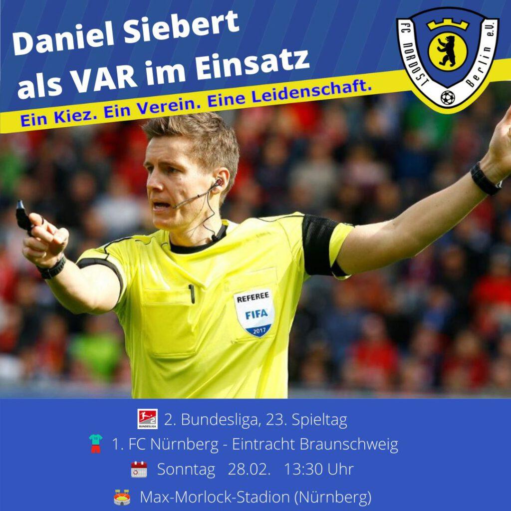 Daniel Siebert Ansetzung 28.02.21