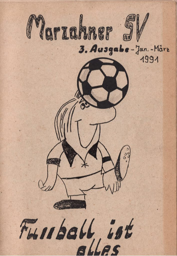 Fussball ist anders 3. Ausgabe Titelseite