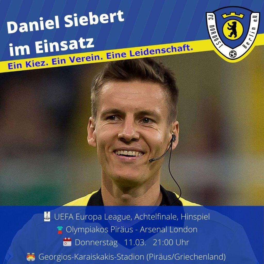 Daniel Siebert Ansetzung 11.03.21