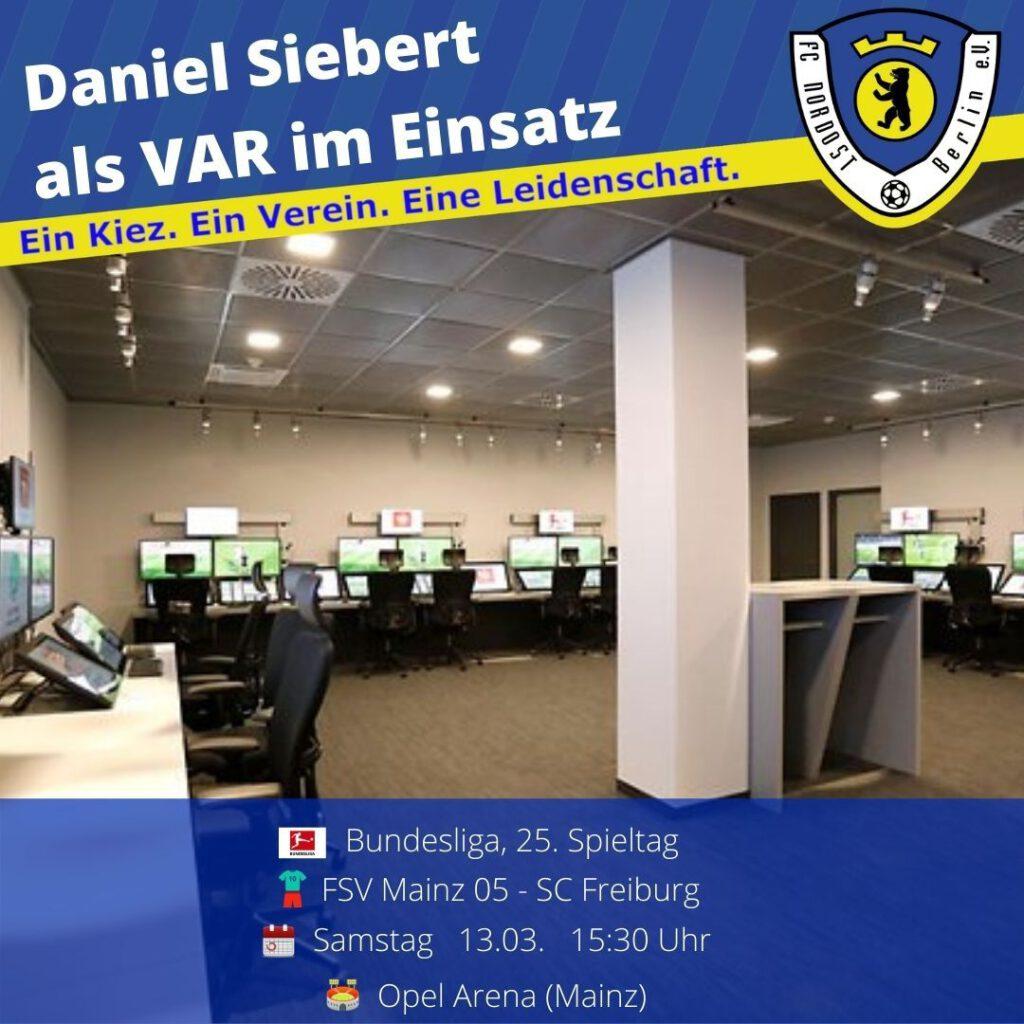 Daniel Siebert Ansetzung 13.03.21