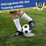 Altersgrenze für das Training erhöht