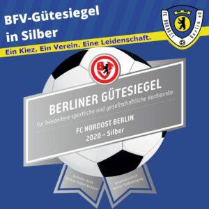 BFV-Gütesiegel 2020 in Silber