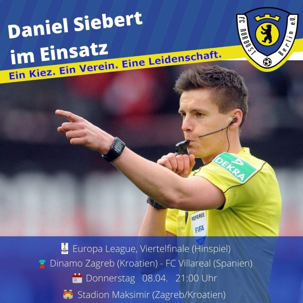 Daniel Siebert Ansetzung 08.04.21