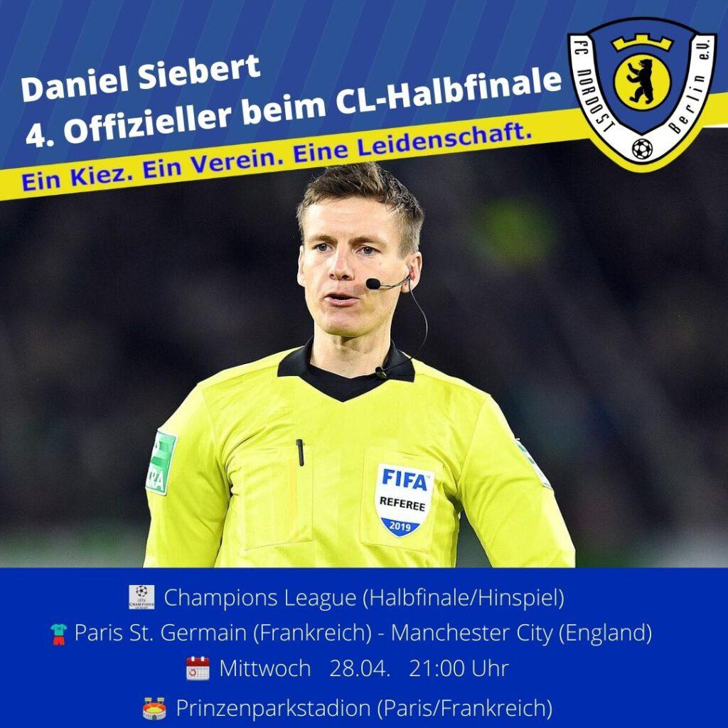 Daniel Siebert Ansetzung 28.04.21