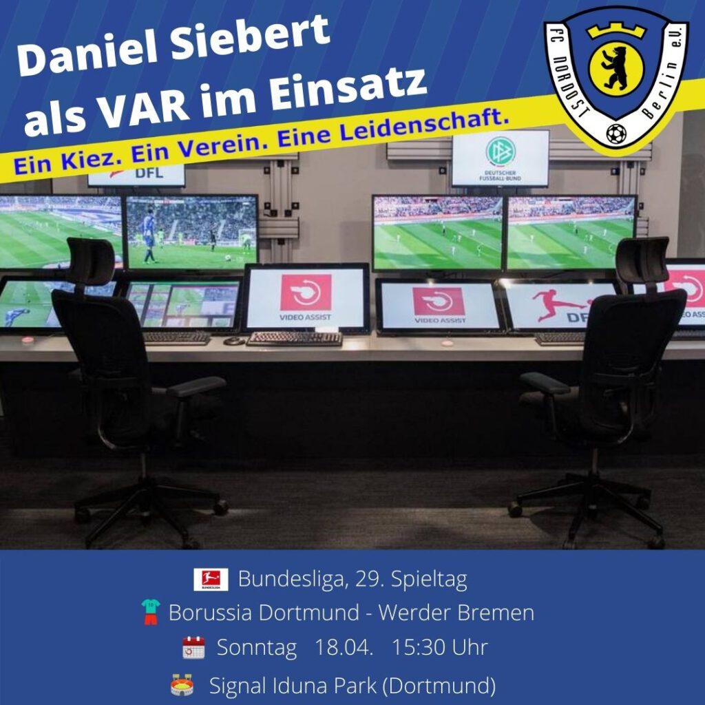 Daniel Siebert Ansetzung vom 18.04.21