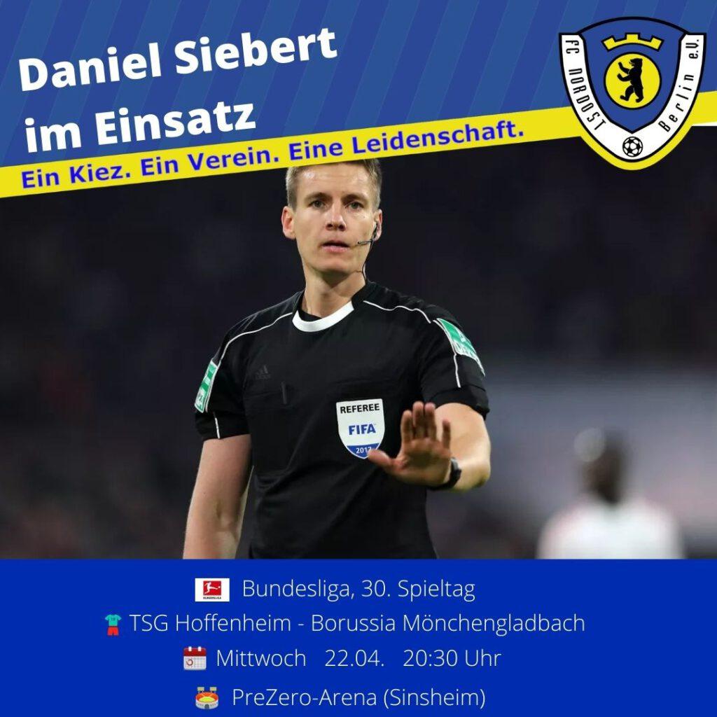 Daniel Siebert Ansetzung vom 21.04.21
