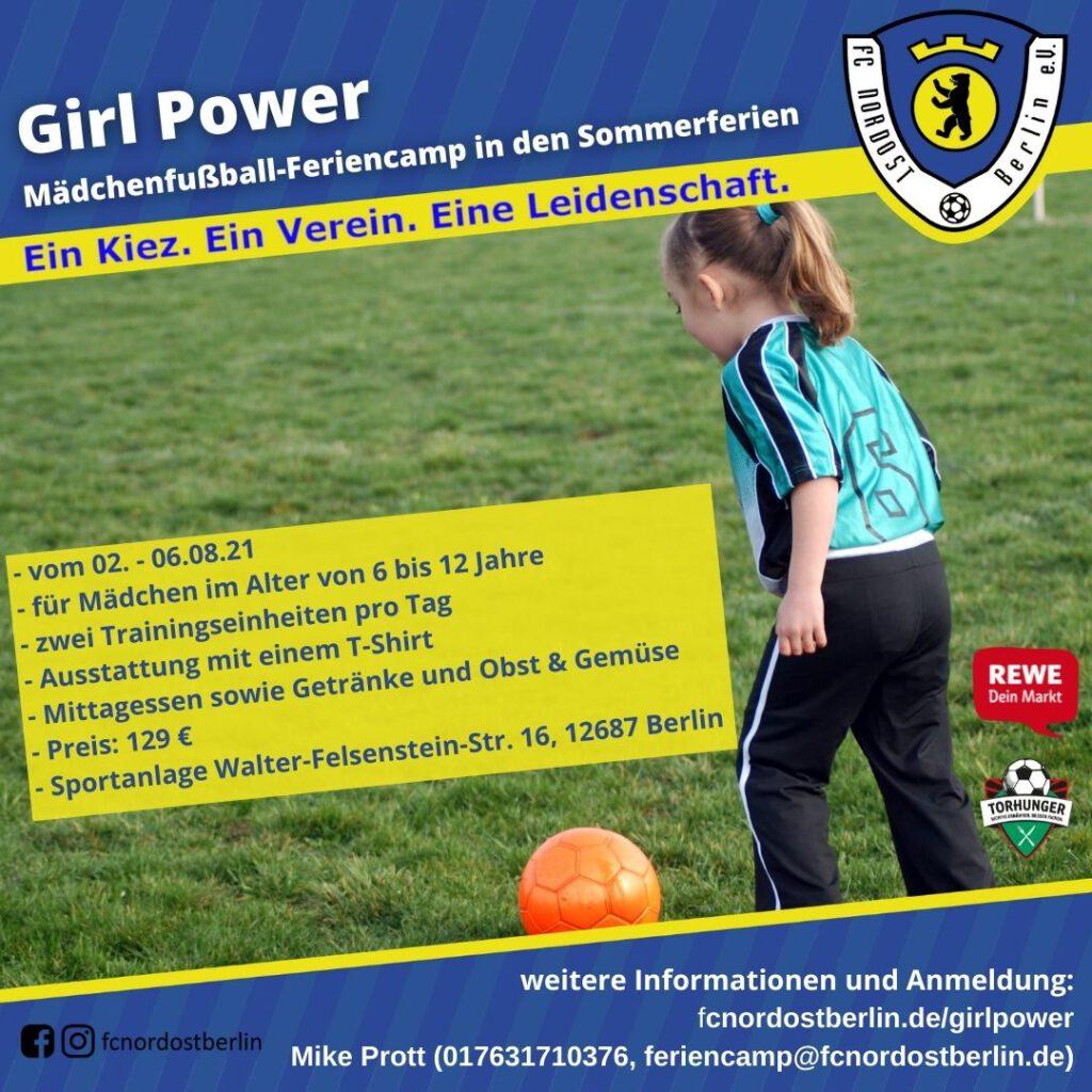 Feriencamp Girl Power