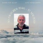 Ruhe in Frieden Lutz Hesselbarth