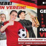Schuhplus fördert das Vereinsleben