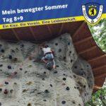 Mein bewegter Sommer Tag 8+9